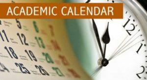 KUST Academic Calendar For 2017/2018 Academic Session