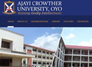 Ajayi Crowther University Release Admission Form For 2018/2019 Session