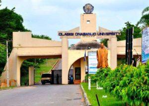 Olabisi Onabanjo University Academic Calendar for 2018/2019 Session