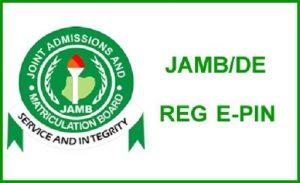 Procedure To Obtain JAMB Registration e-PIN