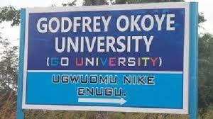 godfrey okoye university postgraduate admission form